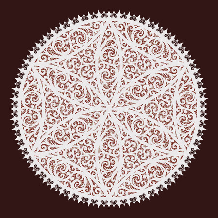 lacy: Background from a vector ornament, lacy style