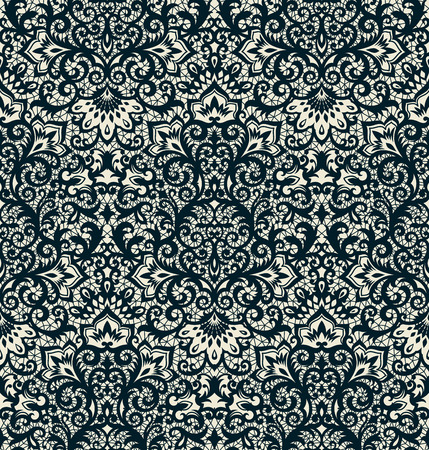 vintage backgrounds: Seamless background from a vector ornament, Fashionable modern wallpaper or textile Illustration