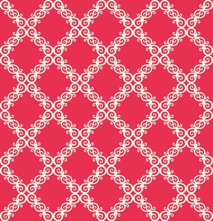modern wallpaper: Seamless background from a floral ornament, Fashionable modern wallpaper or textile