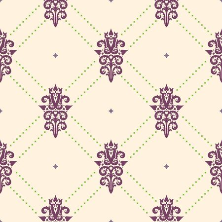 textile background: Seamless background from a floral ornament, Fashionable modern wallpaper or textile