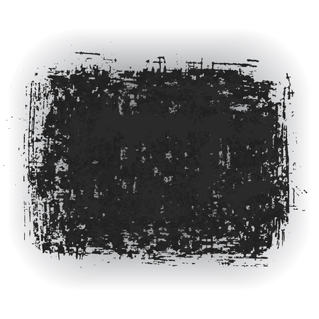 Original grunge brush paint texture design ink stroke frame vector. Original rough paper hand painted vector. Perfect design for headline, logo and banner.