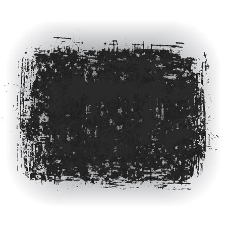 Original grunge brush paint texture design ink stroke frame vector. Original rough paper hand painted vector. Perfect design for headline, logo and banner. Illustration