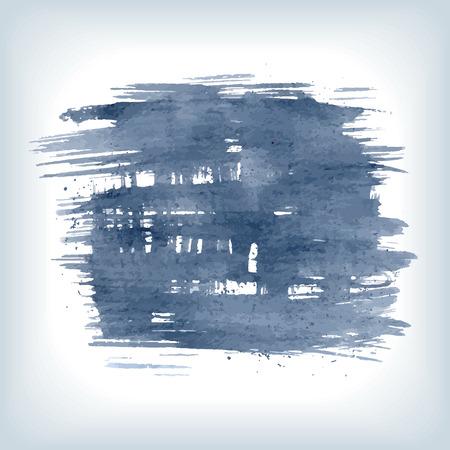 rough: Original grunge brush paint texture design ink stroke frame vector. Original rough paper hand painted vector. Perfect design for headline, logo and banner. Illustration