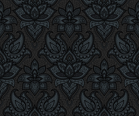 seamless background: Seamless background from a vector ornament, Fashionable modern wallpaper or textile Illustration