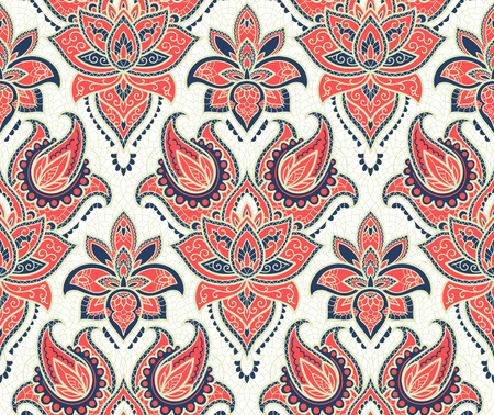 weave: Seamless background from a vector ornament, Fashionable modern wallpaper or textile Illustration