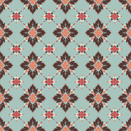 patterns vector: Seamless pattern based on traditional Asian elements Paisley. Boho vintage style vector background. Best motive for print on fabric or papper.