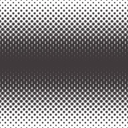contrast resolution: Halftone vector pattern