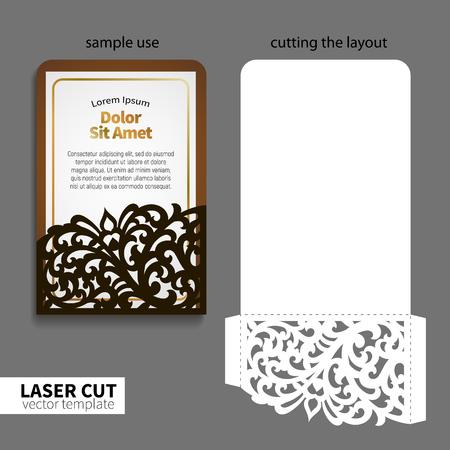 Vector laser cutting. Banco de Imagens - 72093708