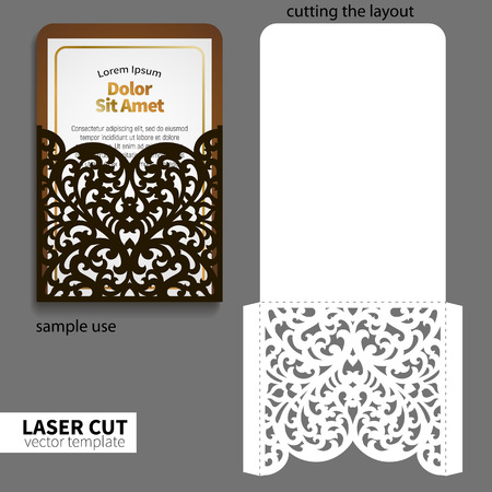 laser cutting: Vector laser cutting.