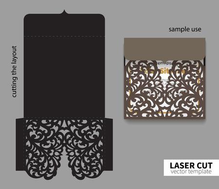 Artistic Vector laser cutting.