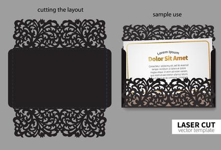 corte laser: corte por láser vectorial.