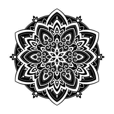 Mandala ethnic motifs