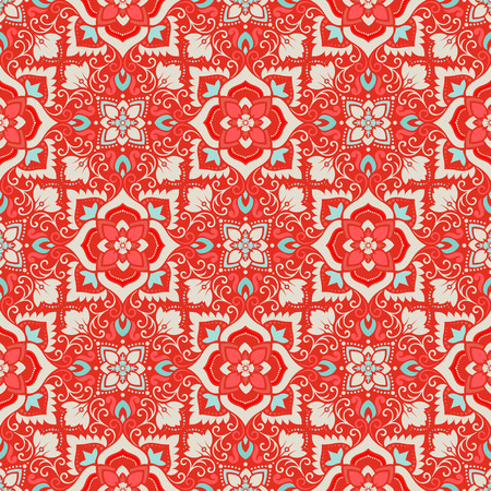 elaborate: Vector damask seamless pattern background. Elegant luxury texture for wallpapers, backgrounds and page fill.