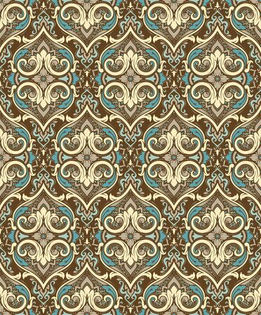 pattern: Vector damask seamless pattern