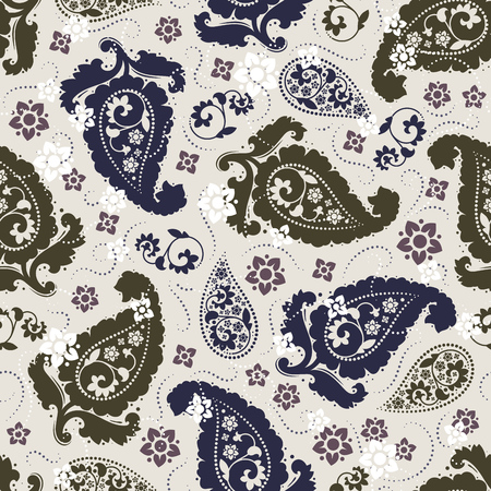 pattern: Seamless paisley pattern Illustration