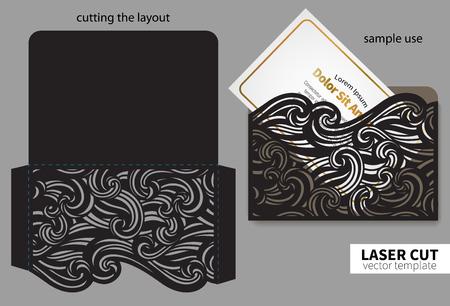 Vector laser cutting. Stock fotó - 80393839