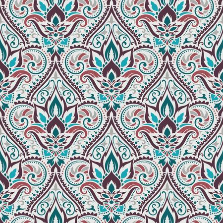 elaborate: Vector damask seamless pattern
