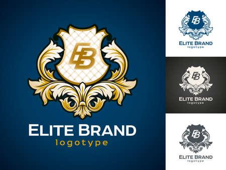 elite: Luxury vector icon design.