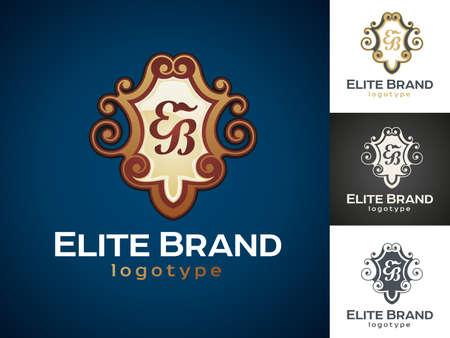 elite: Luxury Vector icon design Illustration
