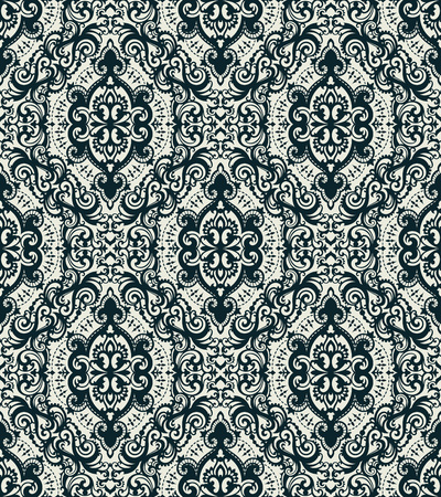 A Vector damask seamless pattern
