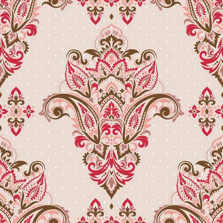 Seamless paisley pattern Ilustração