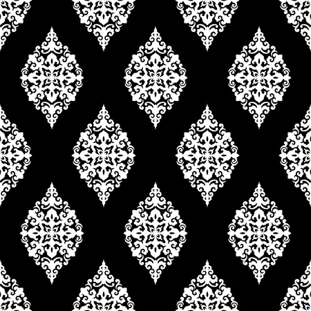 Seamless vector pattern. Traditional asian ornamental motive.