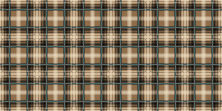 Popular fashion print design for fabric or other products in 2019. Scottish cell fabric.