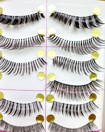 clothing: eyelashes Stock Photo