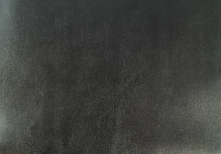 ebon: top view leather background