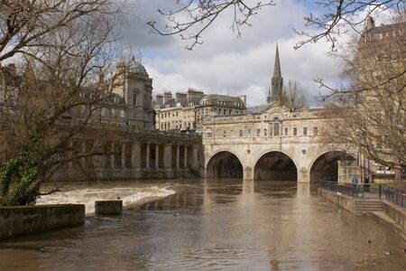 Pulteney Bridge, Bath, Somerset, UK photo
