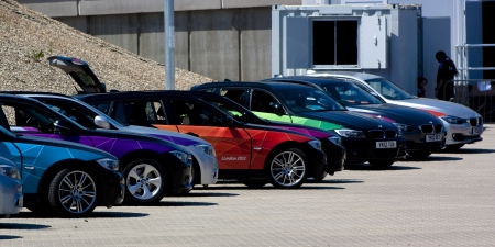Official London 2012 Olympic BMW 5 series.