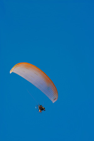 Paramotor is the generic name for the harness and propulsive portion of a powered paraglider