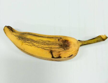 starch: Banana of Thailand is called Hak Muk starch banana. Stock Photo