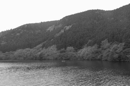 日本の Hagone で芦ノ湖の風景です。 写真素材