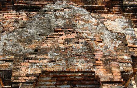 buddhism prayer belief: Pagoda of Si Them Historical Park at Phetchabun province,Thailand.