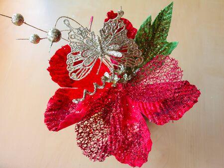 artificial flower: Artificial flower.