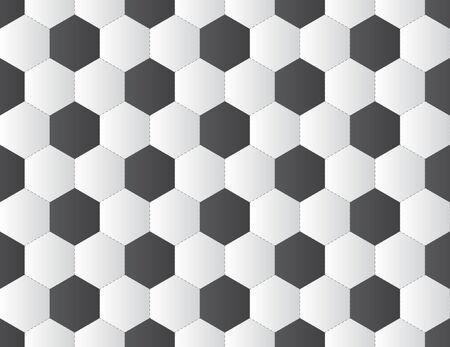 curve ball: soccer seamless pattern