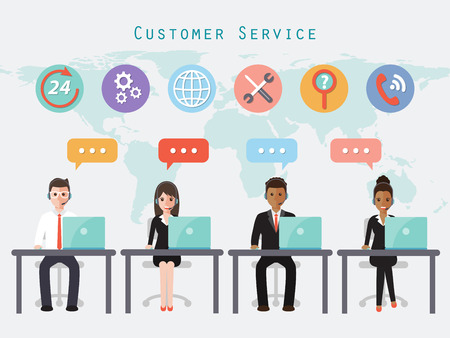 call center and customer service people.