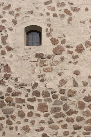 Window on The Round Tower, Vyborg, Russia photo