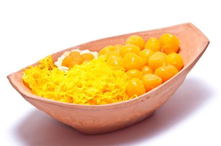 gloden: Thai sweet desert golden threads and Sweety Gloden Drop