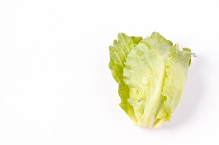 brussel: brussel sprouts isolated on white background Stock Photo