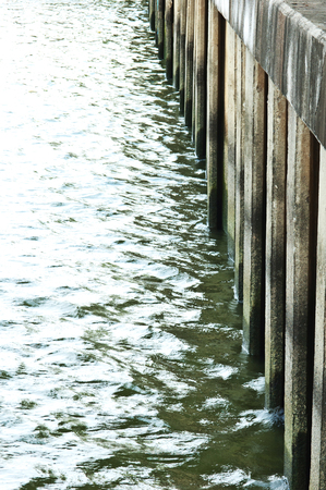 breakwater: Breakwater concrete dam