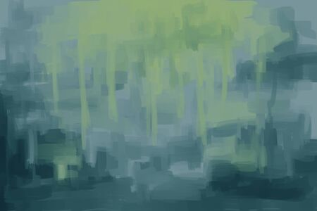 creative arts: painting abstract background green