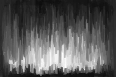 creative arts: painting abstract background gray Stock Photo