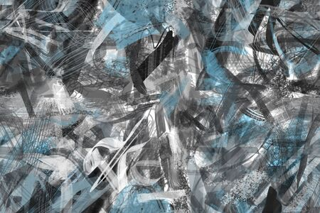 seamless: painting abstract background seamless