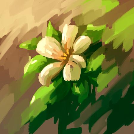 still life: painting still life flower