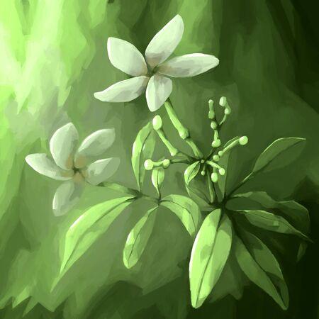 그림 아직도 인생 꽃