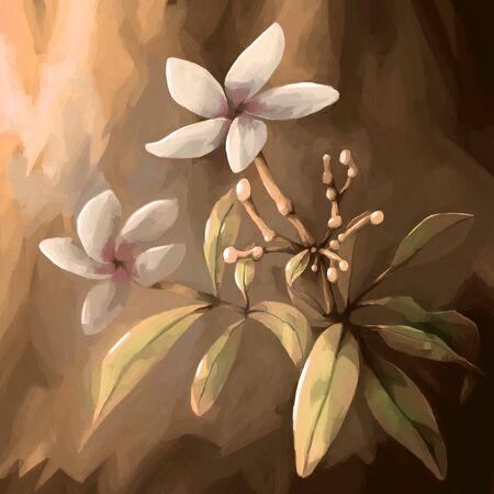 still: painting still life flower