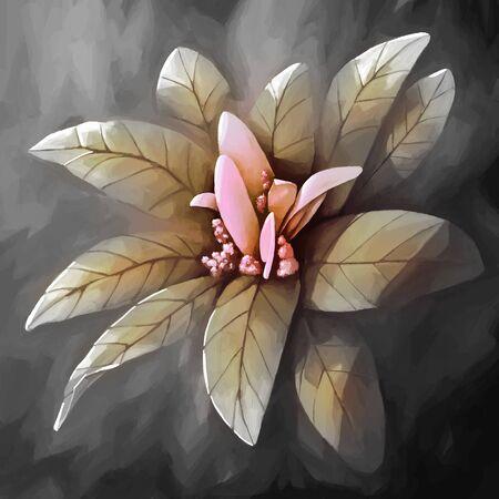 그림 아직 인생 꽃