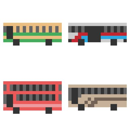 buss: pixel art bus